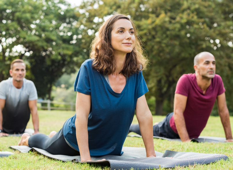 Fitness in green space